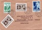 Poland - Nice Franking Cover Pmk. KOSTJCHNA  25.1.1948 To  Schaffhausen Suisse - 1944-.... Republic