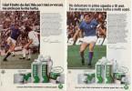1976 - Giacinto Facchetti Capitano Della Nazionale - VIDAL - 2 P. Pubblicità Cm. 13,5 X 18,5 - Non Classificati