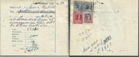 Ricevuta Di Affitto - 11-11-1955 - Osio Sotto - Con Marche Da Bollo (vedi Foto) - Italia
