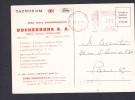 Obliteration EMA Rochebrune SA Concessionnaire Ford Sur Carte Postale Voiture Ford Taunus 17M - Marcophilie (Lettres)