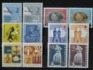 YOUGOSLAVIE - Bienfaisance  Lot 1957/1962 ** (voir Scan) - Wohlfahrtsmarken