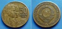YUGOSLAVIA SFR 50 Dinara 1963 (VF) - Jugoslawien