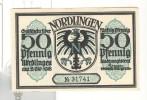 Notgeld 50 Pfennig Nordlingen  - Allemagne / Germany - [11] Local Banknote Issues
