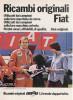 1977 - Fulvio Bacchelli  (campione Rally) - Ricambi FIAT  - 1 P. Pubblicità Cm. 13,5 X18,5 - Corse Di Auto