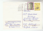 1993 AUSTRIA Stamps UPRATED Postal STATIONERY CARD Illus SLOGAN Pmk IRDNING Cover - Stamped Stationery