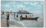 Eastbourne   Nice Vintage Pc  Landing At Low Tide Nice - Eastbourne