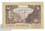 Notgeld 40 Heller Sammlerbund Innsbruck - Autriche / Austria - Autriche