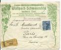 AUTRICHE - 1912 - ENVELOPPE COMMERCIALE RECOMMANDEE De INNSBRUCK (TYROL) Pour PARIS - Covers & Documents
