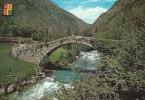 Valls D`Andorra.  Saint Julia De Loria.  Margineda Bridge  # 04836 - Andorra