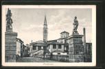 Cartolina Pordenone, Ortspartie - Pordenone