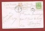 Charleroi Exposition 1911 Oblitération   Flamme S/carte Vue - Postmark Collection
