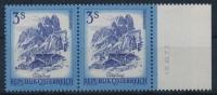 **Austria 1974 ANK 1587 Mi 1442 (pair/Paar) Date/Datum Schönes Österreich Landscape MNH - 1945-.... 2. Republik