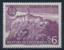 **Österreich Austria 1978 ANK 1605 Mi 1573 (1) Riegersburg Castle CEPT MNH - 1971-80 Ungebraucht