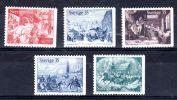 1971,  Noël En Suède ,  YT 708 - 712,  Neuf **, Lot 43813 - Noël