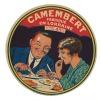 Ancienne étiquette Fromage  Camembert Fabriqué En Lorraine - Formaggio