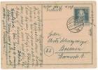 AG312    Deutschland Alliierte Besetzung 1947 Postkarte Ganzsache  Berlin 29.5.47 Nach Bremen - Bizone