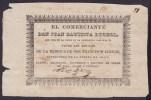 E1918 CUBA SPAIN ESPAÑA ADVERTISING TABACO VUELTA ABAJO TABACO. CIRCA 1850. - Documentos Históricos