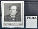 Gustav Mahler, Komponist, Dirigent, Operndirektor, Portrait Mahler In New York 1909, PM AT 2013 ** (pe265 ) - Autriche
