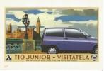 L3484 Cartolina Pubblicitaria - Lancia Y10 Junior - Auto Cars Voitures / Non Viaggiata - Pubblicitari