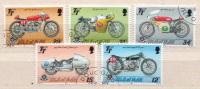 Isle Of Man Used Set - Motorbikes