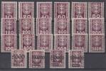 Danzig Lot Portomarken Mit Falz Ansehen !!!!!!!!!!!!!!!!!! - Briefmarken
