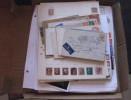 Mise à Pris 1 Euro Grande Bretagne  United Kingdom  1 Carton De Timbres Dont Classique Lettres / Covers Et Neufs ** (21) - Collections