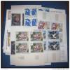 mise � prix 1 euro France collection tableaux (paintings)  en bloc de 4 **  scans � voir (185)