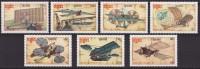 Kampuchea 1987 Yvertn° 744-50  *** MNH Cote 7 Euro Avions Vliegtuigen Airplanes - Kampuchea