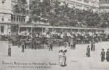 CPA PARIS 9° ARRONDISSEMENT - Boulevard Haussman Grands Magasins Du Printemps : Départ Des Voitures De Livraison - Paris (09)
