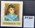 Mädchenbildnis Elisabeth Maitre, Pastell Pierre-Auguste Renoir 1879, Albertina Wien, PM AT 2008 ** (pf591 ) - Autriche