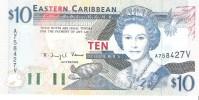 East Caribbean States - Pick 32v  - 10 Dollars 1994 - Unc - Caraïbes Orientales