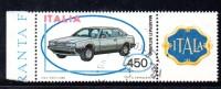 Z1048A - Italia 1984 - Automobili  Maserati Usato Con Appendice - 6. 1946-.. Repubblica