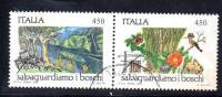 Z1050B - Italia 1984 - Salvaguardia Boschi  Coppiola Usata - 6. 1946-.. Repubblica