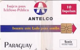 PARAGUAY - Antelco Logo(10 Units), Mint - Paraguay