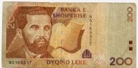 Shqiperise 200 Leke - Nq169317 - Billets