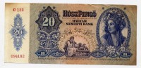Magyar Nemzeti Bank 20 Husz Pengo - C159 - Billets