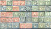 _5Ez-997: Restje : 40 Zegels.: Cijfer 1921-22.... Om Verder Uit Te Zoeken... - 1891-1948 (Wilhelmine)