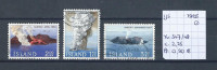 IJsland 1965 - Yv. 347/49 - Michel 392/94 Gest./obl./used - 1944-... Republique