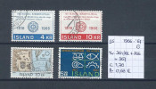 IJsland 1966-´67 - 3 Sets Gest./obl./used - 1944-... Republique