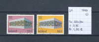 IJsland 1969 - Yv. 383/84 - Michel 428/29 Gest./obl./used - 1944-... Republique
