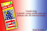 Vanilla Pride, LITTLE TREES CAR-FRESHNERS, Carded Air Fresheners, Made In USA, NEW - Accessories