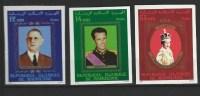 """Mauritanie YT 398 à 400 Non Dentelé """" Personnalités """" 1978 Neuf** - Mauritanië (1960-...)"""