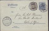 Germany Deutsches Reich Postal Stationery Ganzsache 3 Pf. Neben 2 Pf. Germania Antwort LYCK 1907 To CÖLN Köln (2 Scans) - Allemagne