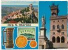 Rep San Marino  P. Used 4 Stamps 1972 Walt Disney Gold Coins - San Marino