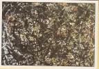 Jackson Pollock - Number 6 - Amerikaanse Abstractie - De Hedendaagse Kunst - Schilderijen