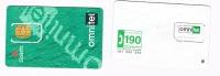 OMNITEL  ITALIA  - GSM SIM RICARICAT 7^ ED. 3845 - 4 ATTACCHI    - USED - RIF. CP - Italia