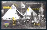 ISLE OF MAN  Mi.Nr. Block 59 I  Pfadfinder - Zudruck - MNH - Isla De Man