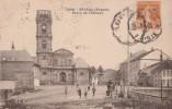 Vosges - ETIVAL  - Place De L´Abbaye - Cachet Ambulant St Dié à Blainville - Etival Clairefontaine