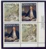 C1 P23Canada ** N° 661/662 - Voyage Du Capitaine Cook - Bloc De 4 - Coin De Feuille- - 1952-.... Regno Di Elizabeth II