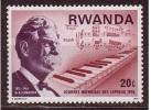 RWANDA DR A. SCHWEITZER JOURNEE MONDIALE LEPREUX 1976 N** - Autres